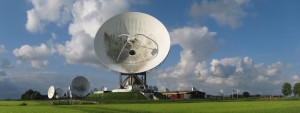 Grondstation van de Nationale SIGINT Organisatie (NSO) in Burum, Frysl'n